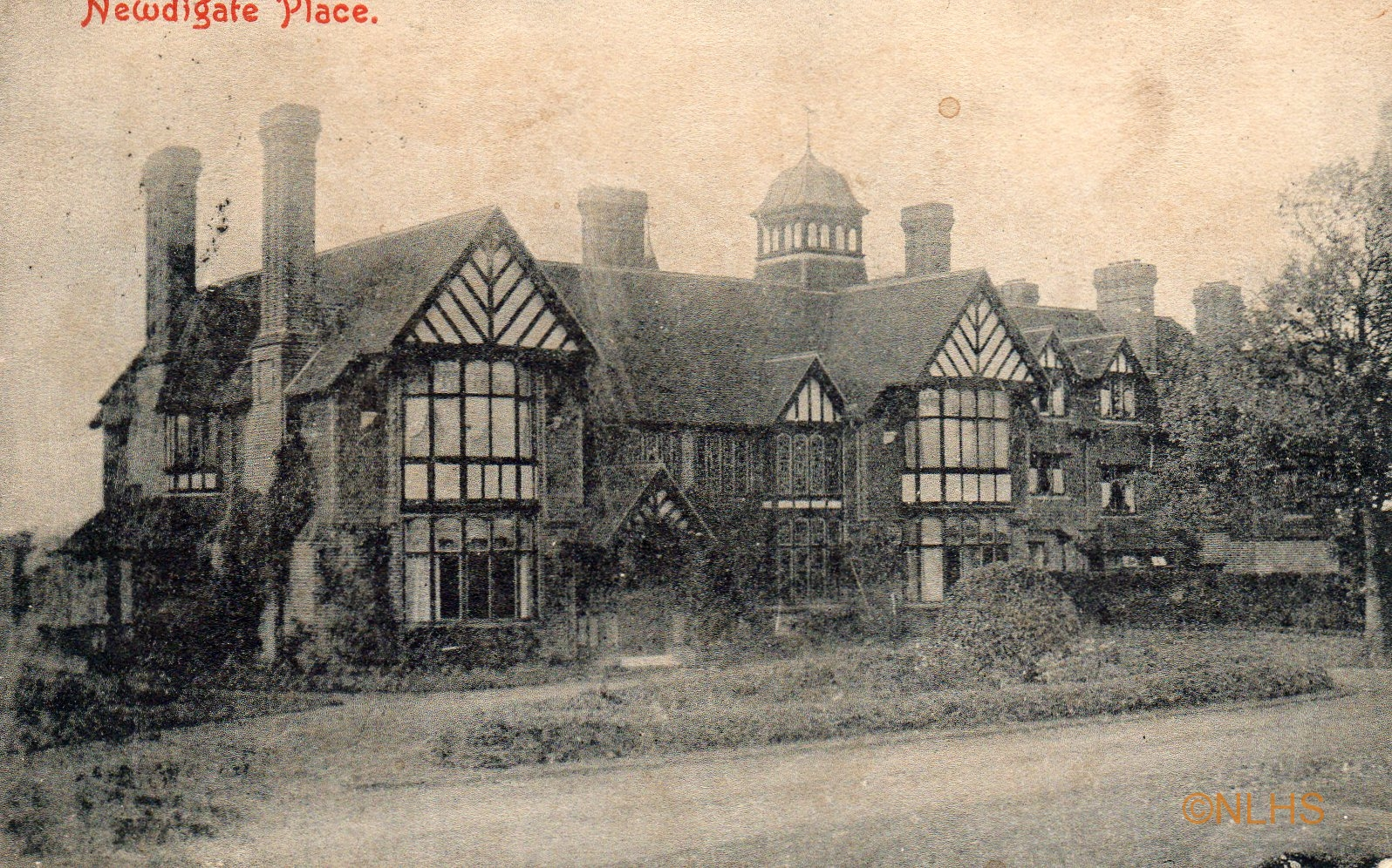 Newdigate Place - Postmark 1907