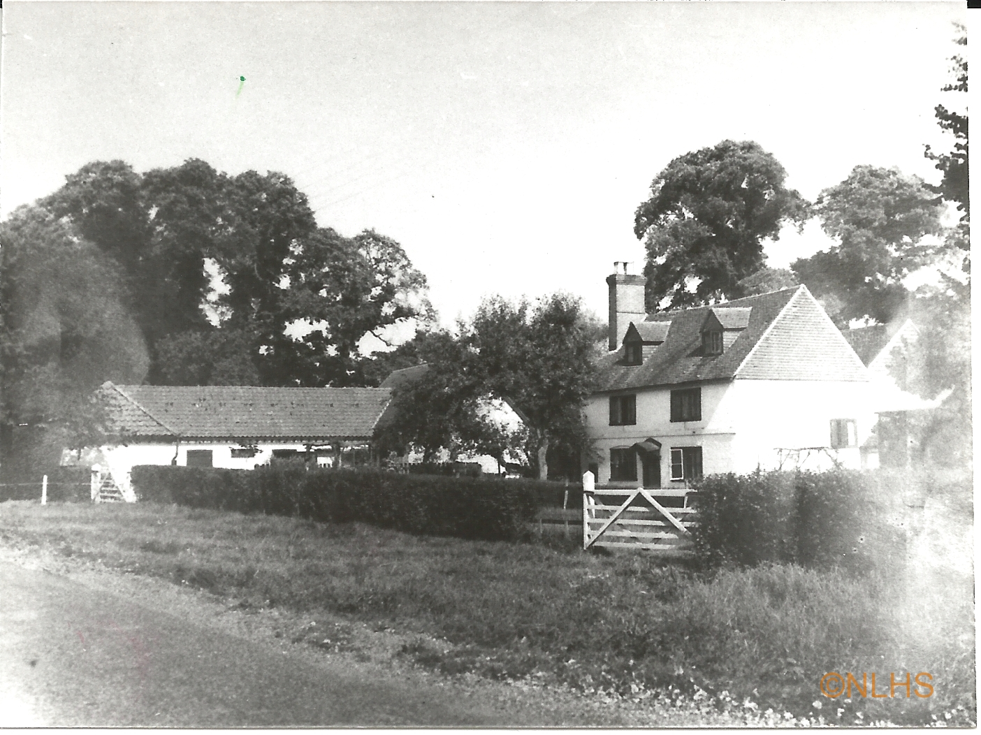 Sturtwood Farm in 1940 - the home of the Jones family