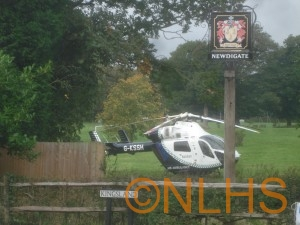 7 - Air Ambulance on Brocus 09.10.12