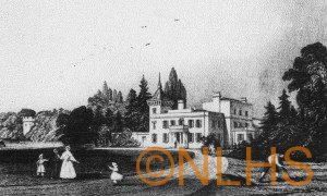 Lyne House c. 1817