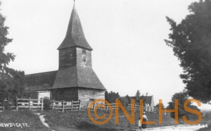 Newdigate Church - pre 1914 - 7