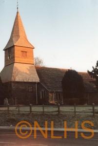 Reshingled Church - 1986