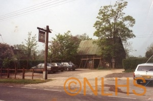 Six Bells Barn prior to renovation - 1996