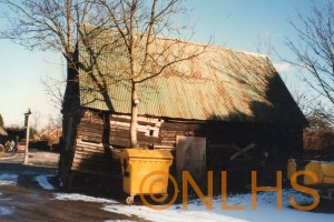 Six Bells Barn - rear in 1996