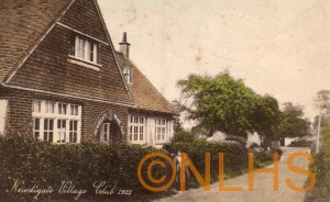 Village Club - 1921