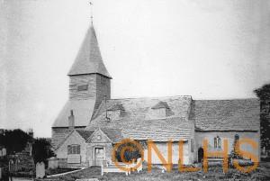 Newdigate Church - Circa 1870 - 1