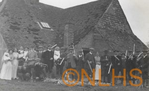 A Rabbit Shoot at Marelands Farm - 1913