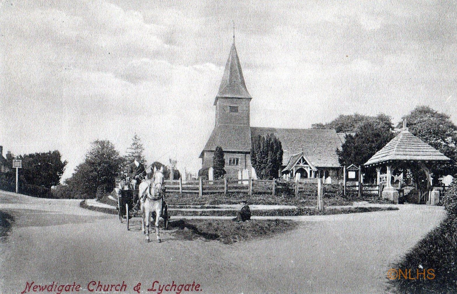 Newdigate Church - pre 1914 - 2