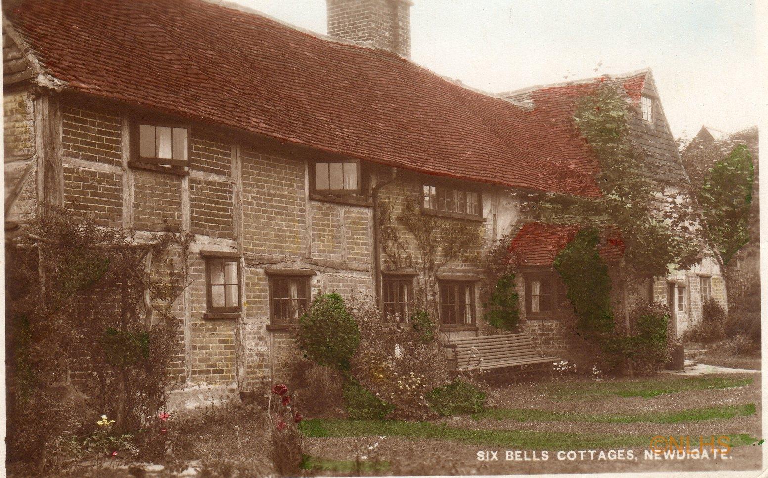 Six Bells Cottages c.1921